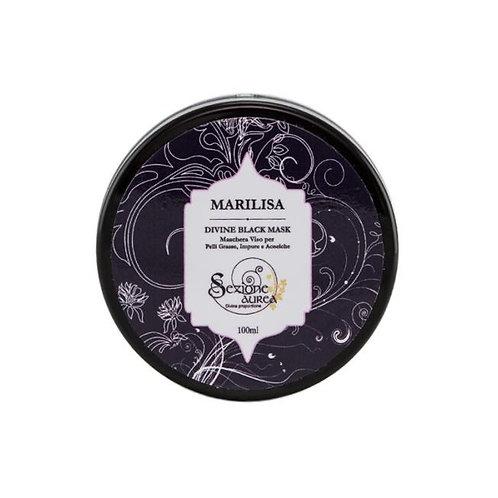 MARILISA Black Mask Bio per Pelli Grasse, Impure e Acneiche - MYSEZIONE AUREA