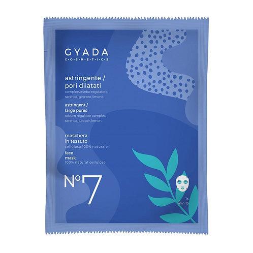 Maschera in Tessuto - N°7 Astringente/Pori Dilatati - GYADA