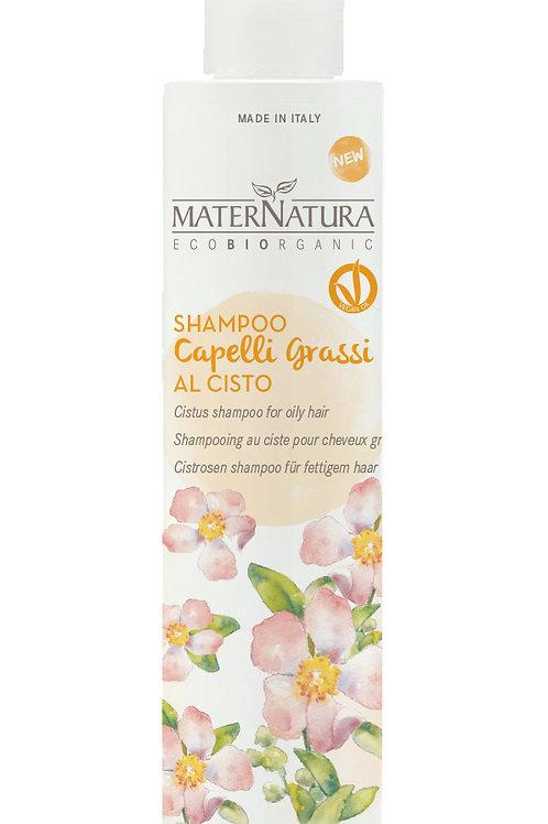 Shampoo Capelli Grassi al Cisto- MATERNATURA