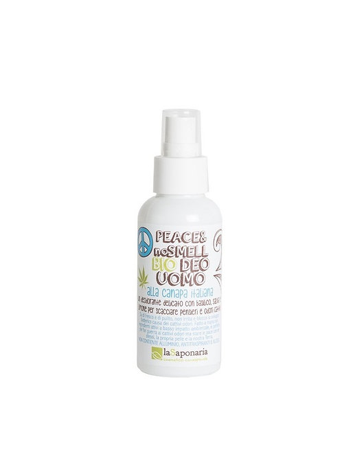 "Biodeo uomo ""Peace & No Smell""- LA SAPONARIA"
