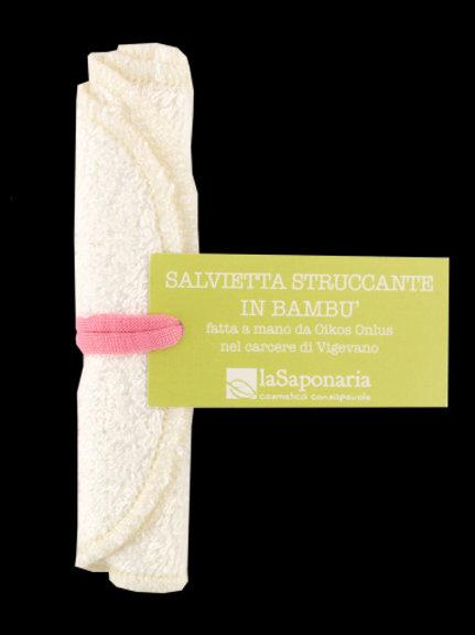 Salvietta struccante in bambù - LA SAPONARIA