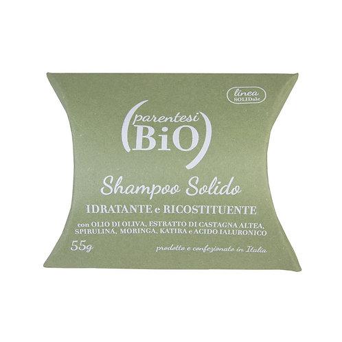 Shampoo Solido Idratante e Ricostituente - PARENTESI BIO