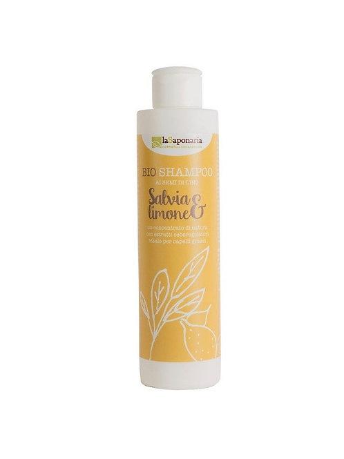 Shampoo salvia e limone- LA SAPONARIA