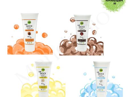 Linea Hair Shock – Gel Ayurvedici Detergenti di ANARKHIA BIO