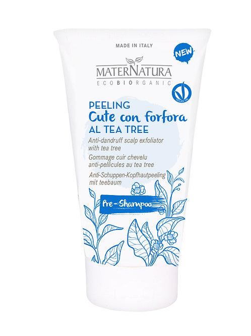 Peeling cute con forfora- MATERNATURA