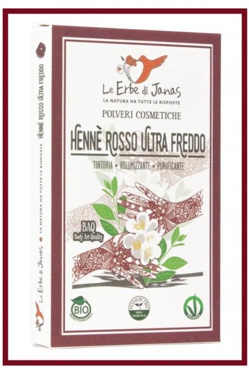 Hennè Rosso Ultra Freddo - LE ERBE DI JANAS