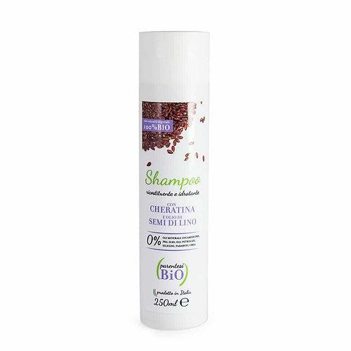 Shampoo Ricostituente e Idratante alla Cheratina- PARENTESI BIO