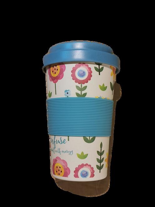 Bamboo Cup- Tazza in BambooFIORI - NEAVITA
