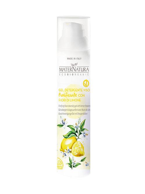 Gel Detergente Viso Purificante con Fiori di Limone- MATERNATURA