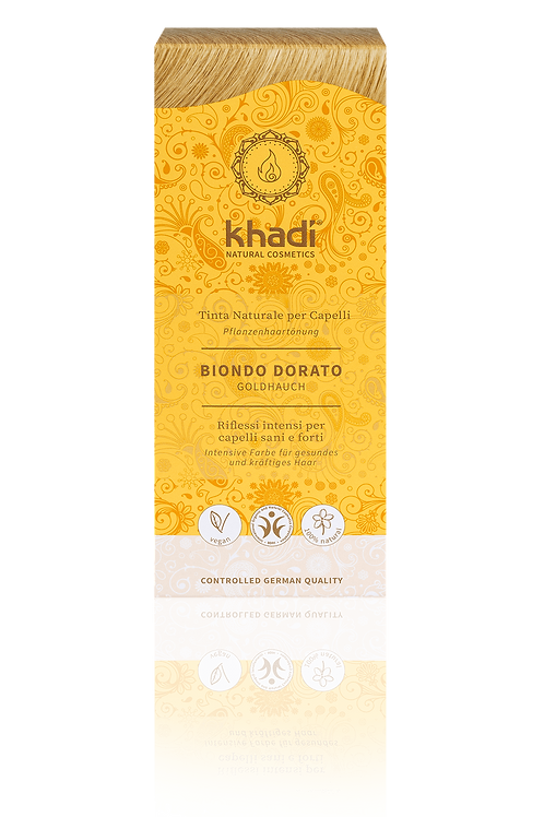 Tinta Vegetale Biondo tocco d'Oro - KHADI