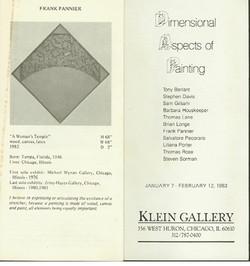 1983 Klein Gallery