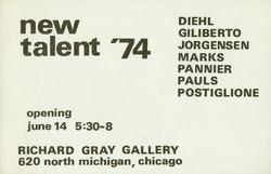 1974 Richard Grey Gallery
