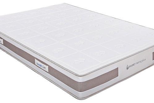 Pocket memory plus mattress