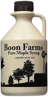 1 Quart (32 ounces) 100% Pure Maple Syrup, Grade A