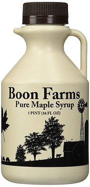 1 Pint (16 ounces) 100%Pure Maple Syrup, Grade A
