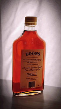 1 bottle - 375 ml, Boon's Bourbon Barrel Aged Maple Syrup