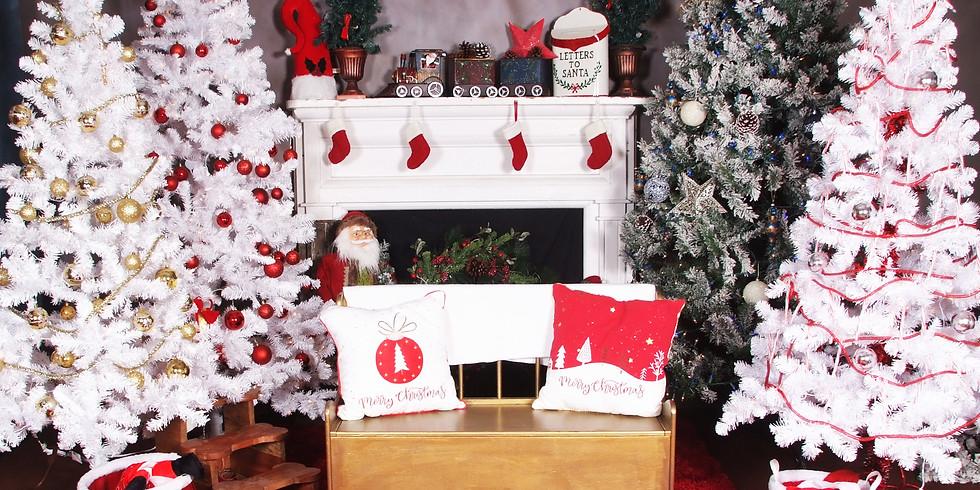 Photos with Santa!