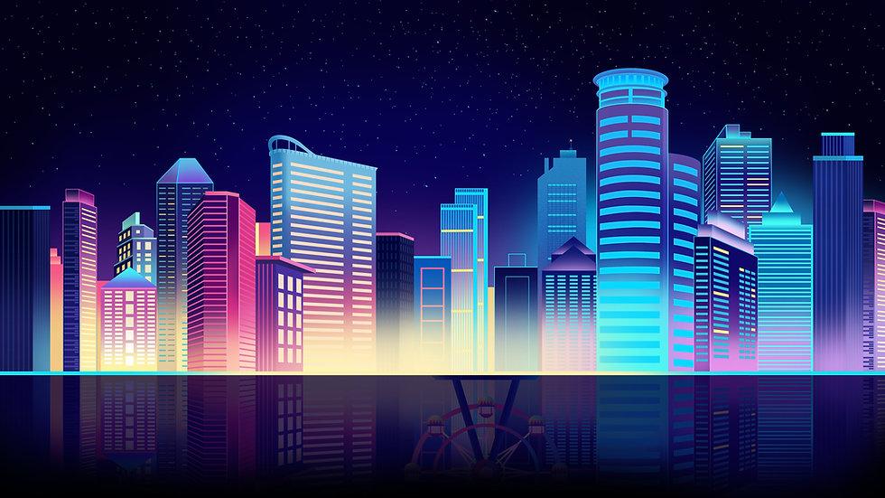 璀璨城市夜景插画背景图.jpg