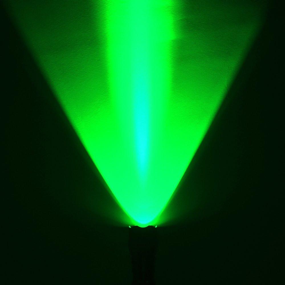 AhomePlay Green Led Flashlight