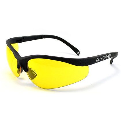 AHOME UV Ray Protection & Night Vision Improvement Adjustable Safety Glasses