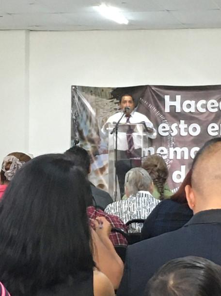 Bro. Lorenzo - part of the ministry in Monterrey
