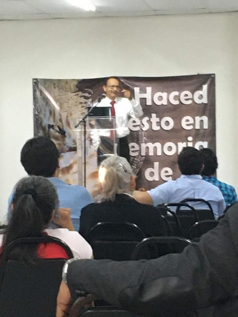 Bro. Paz Tavizon, Apostle at the Monterrey Church