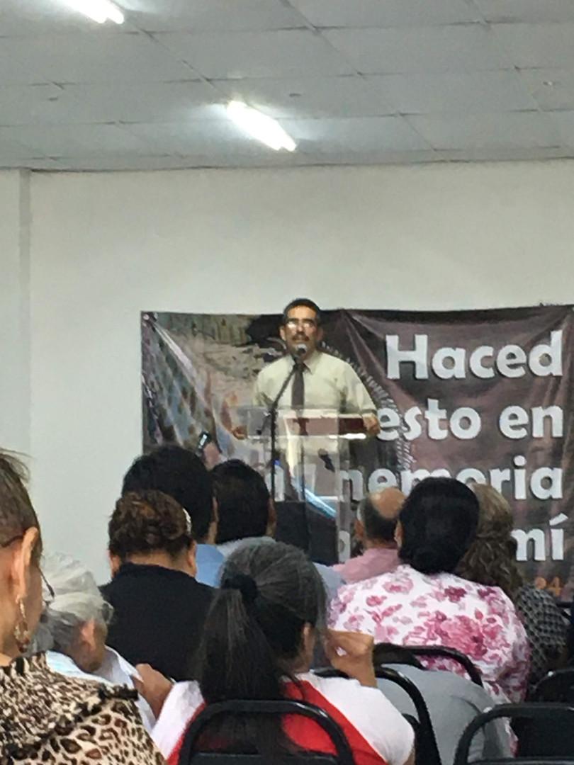 Bro Esidro - Minister at Monterrey Church