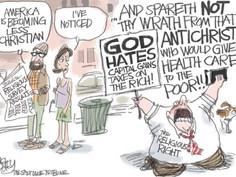 Christian ≠ Political Activism