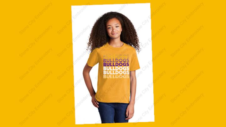 Youth T shirt 50/50 blend Bloom Carroll Spirit Unisex