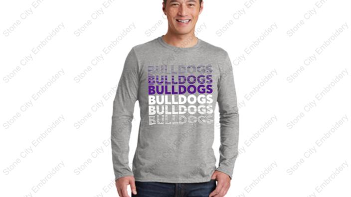 Long Sleeve Unisex Adult T shirt Bloom Carroll Spirit Wear