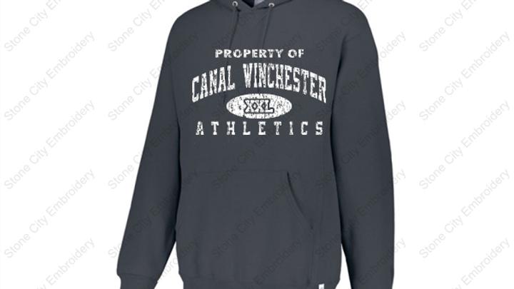 Adult Hoodie Canal Winchester Spirit Wear Fleece