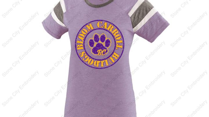 Fanatic Girls T shirt Bloom Carroll Spirit Wear