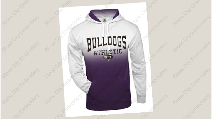 Badger Ombre Hooded Sweatshirt Adult & Youth
