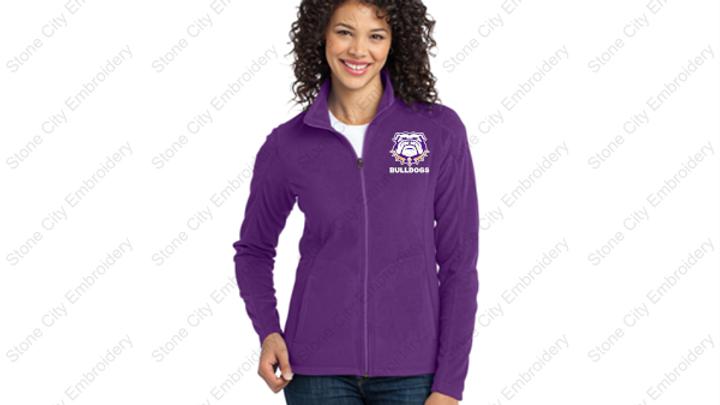 Micro Fleece Ladies full zip jacket