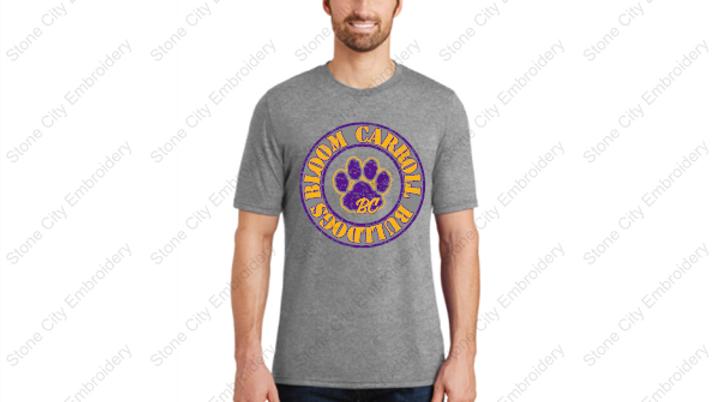 Unisex Adult T shirt Bloom Carroll Spirit Wear