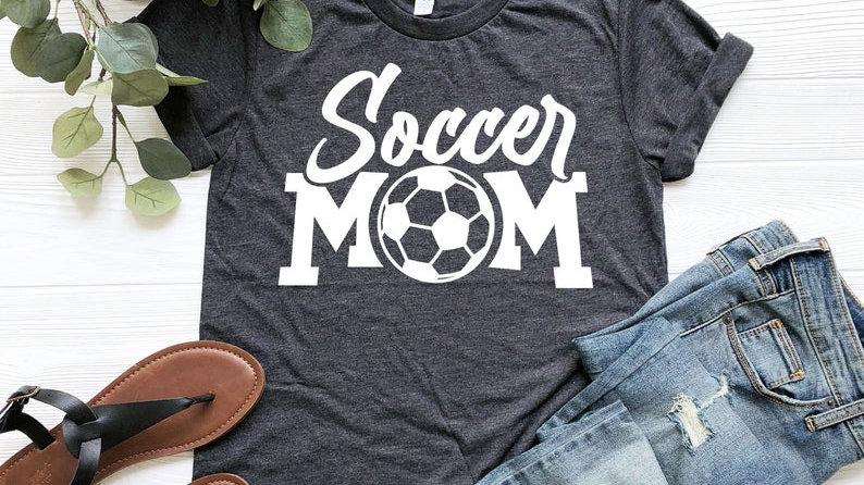 Soccer Mom Bella Canvas T shirt