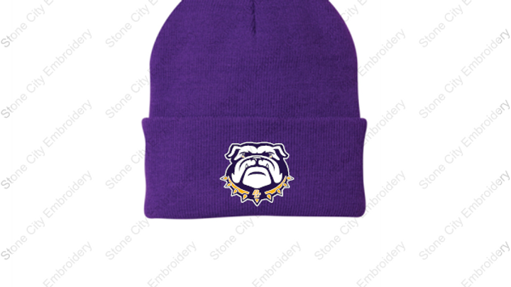 Knit Beanie Embroidered logo