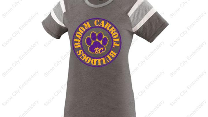 Fanatic Ladies T shirt Bloom Carroll Spirit Wear