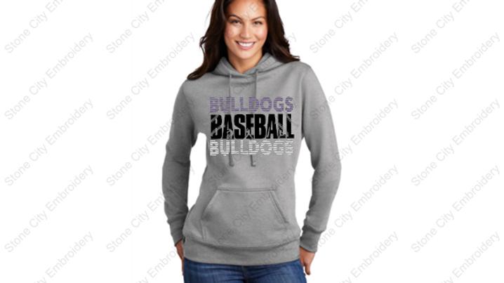 BASEBALL Core Ladies Fleece Pull Over