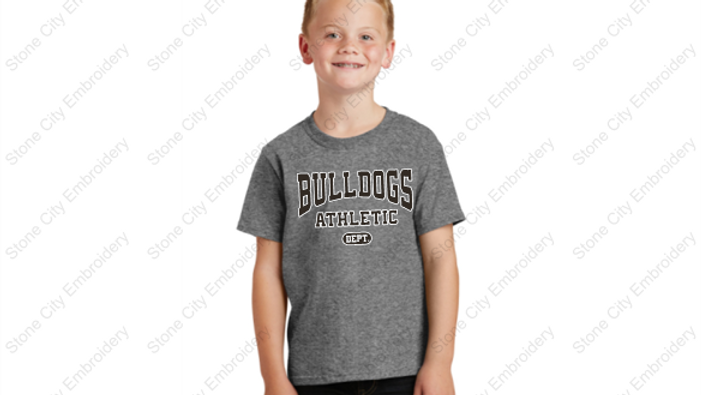 Youth T shirt 50/50 blend Bloom Carroll Spirit