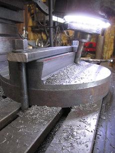 Power hammer sow block