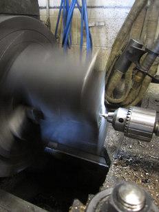 turning large parts