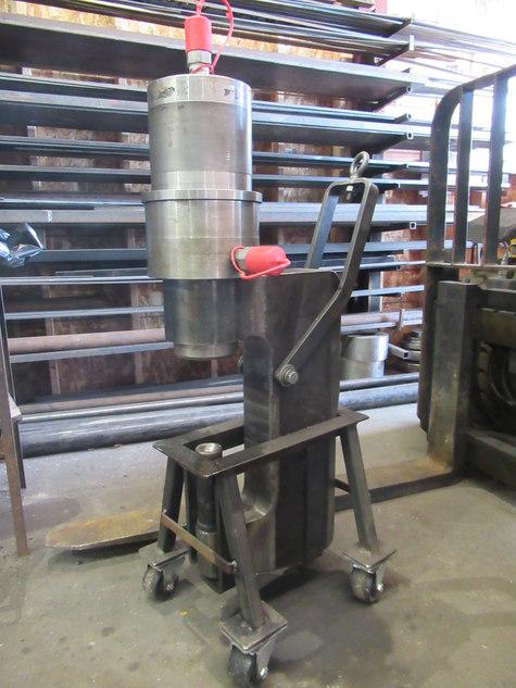 custom hydraulic press and cylinders