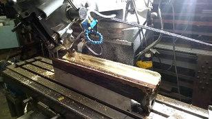 Beaudry power hammer rebuild