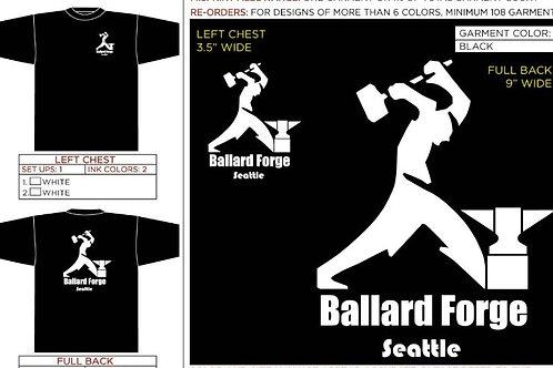 Ballard Forge T shirts Extra Large size