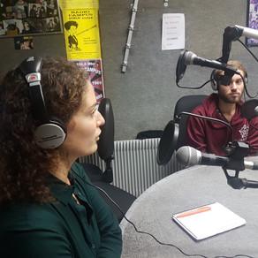 Passage de l'ENVAR sur radio campus