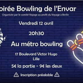 Bowling de l'ENVAR