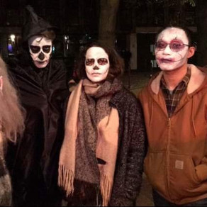 La soirée Halloween