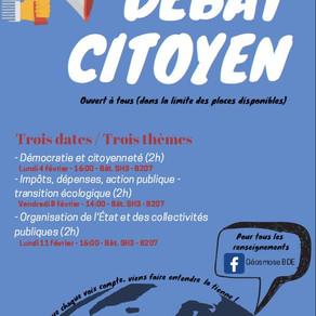 Le débat citoyen