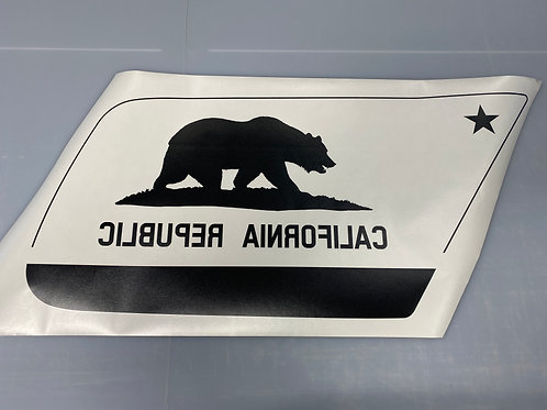 California Flag PrezisionCut® Vinyl Window Decal